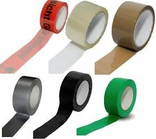 Packetband Tape Packing Tape Duct Tape Transparent Braun Warning Glass