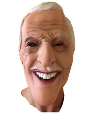 BRUCE FORSYTH MASK FULL HEAD LATEX PLAY YOUR CARDS STRICTLY COME MASKS