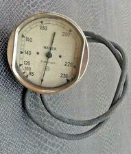 ancien compteur de température d'eau pour automobile L T I début 20 ème