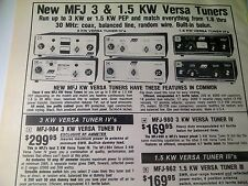 Mfj in collectables ebay 1979 ad page mfj versa tuner ham radio advertising gumiabroncs Image collections