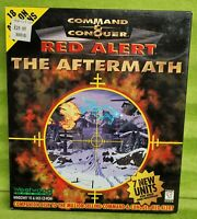 Command & Conquer Red Alert The Aftermath (PC) Big Box 1997 Windows 95 DOS