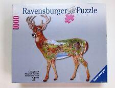 White-Tail Deer Buck Shaped 1000 pc puzzle 2 Feet NIB Ravensburger