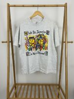VTG We Be Jammin In New Orleans Single Stitch Short Sleeve T-Shirt Size L