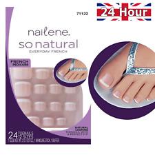 Nailene so Natural Toenails Everyday French 24 Nails