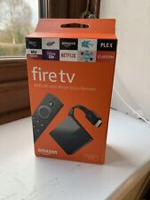 Amazon Fire TV 4K Ultra HD 3rd Gen with Alexa Voice Remote - Boxed