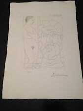 """Picasso """"Suite Vollard"""" Bloch #170, Limited Edition, Picasso Family Authorized."""
