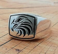 Eagle Turkije Authentic Ring Handgemaakt Solid 925 Sterling Silver Men Ring