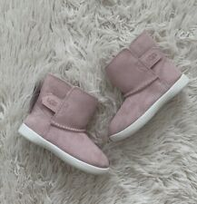 New UGG Keelan Sparkle Suede Toddlers Boots Size US 8