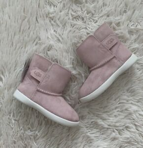 New UGG Keelan Sparkle Suede Toddlers Boots Size US 6