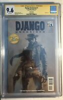 DJango Unchained #1 3rd Print Variant CGC SS 9.6 Not 9.8 (Signed by Jim Lee)
