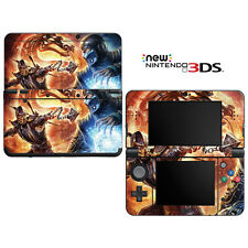 Vinyl Skin Decal Cover for Nintendo New 3DS - Mortal Combat