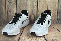 Nike Air Zoom Pegasus 34 TB Running Shoes White Black 887009-100 Mens SZ 14 NEW