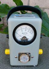 Bird Thruline model 43 watt meter with 27 pep Kits As Shown Exct