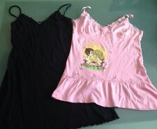 Womens Pajamas 2 Pink Love Is...Kim Casali Black Nordstrom Josie Medium Large