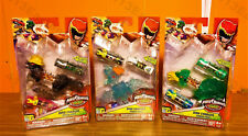 """Power Rangers Dino Charge Power Pack """"Pachy,Ptera & Ammonite Zord"""" (transparent)"""