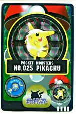 Pokemon Card Japanese Pikachu No. 025 Bandai Sealdass Holo 1997 M/NM