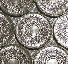 One 1942 WW2 THAI NUMERALS Thailand 1 Satang Chakra Tin Coin BE2485 WWII Grade A