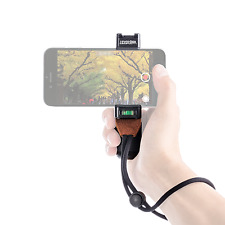Smartphone Photography Grip, Tripod Mount & Stand with Hot Shoe Mount