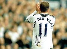 Rafael Van Der VAART SIGNED Autograph 16x12 Tottenham Photo AFTAL COA