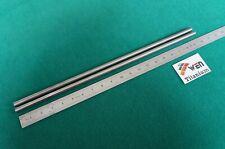 """11mm Dia Titanium 6al-4v round bar .433"""" x 20"""" Ti Grade 5 rod Alloy Metal 2pcs"""