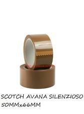 Nastro adesivo per imballo imballaggio scotch AVANA 50X66 alta qualità 12 ROTOLI