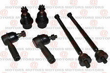 For Ford F-150 2004-2008 Front Left Right Inner Outer Tie Rod Ends Lower Balls
