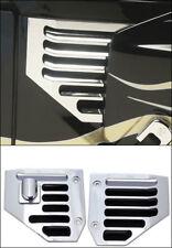 Hummer H2 & SUT Billet Aluminum Triple Chrome Plated Side Air Vent Set - Pair