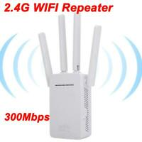 300Mbps Wifi Wireless Repeater Range Extender Router Signal Booster Amplifier