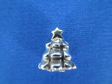 PANDORA ALE, Sterling Silver Two-Tone Christmas Tree Charm