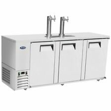 "Atosa Mkc90 90"" 3 Three Door 4 Keg Capacity Draft Beer Cooler Free Liftgate Del."
