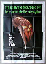HALLOWEEN * CineMasterpieces ITALIAN 4SH HUGE ORIGINAL MOVIE POSTER NM C9 1978