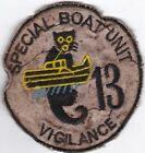 USN Special Boat Unit 13 Vigilance Vietnam Patch #7