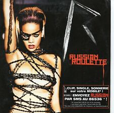 ☆ CD SINGLE RIHANNA	Russian Roulette 2-track CARD SLEEVE FRANCE RARE