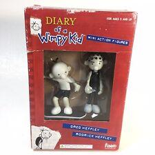 New Diary of a Wimpy Kid Greg Rodrick Heffley Mini Action Figures Skate board