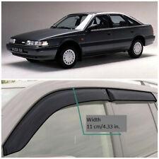 ME23887 Window Visors Guard Vent Wide Deflectors For Mazda 626 Hb GD 1987-1992