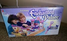 New UNOPENED Electronic Enchanted Palace Board Game Milton Bradley Talking 3D