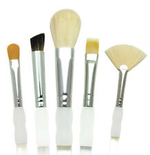 5 SOFT GRIP ARTIST TEXTURE PAINT BRUSH SET MOP FAN WISP & ANGULAR ROYAL SG306