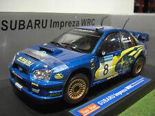 SUBARU IMPREZA WRC RALLYE SWEDISH 1/18 SUN STAR SUNSTAR 4361 voiture miniature