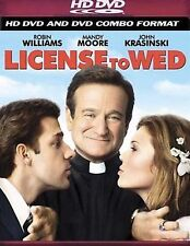 License to Wed -Like New - HD DVD And DVD Combo Format