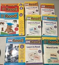 YOUR BABY CAN READ! 82 Cards, Guide, Volume 1,2,3 Starter & Review Cards, Books