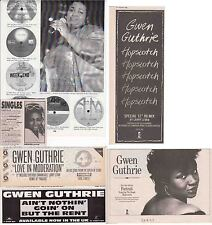GWEN GUTHRIE : CUTTINGS COLLECTION