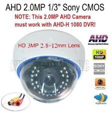 "Ahd 2.0Mp 1/3"" 1080P Sony Imx330 Ir-Cut Camera 30Irx0.5mm 3Mp 2.8-12mm Lens (Afb"