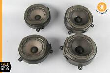 01-07 Mercedes W203 C280 C320 C350 Door Sound Speakers Set of 4 2038201102 OEM