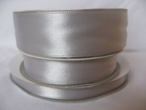 Satin ribbon in variety of widths. Double sided - 3mm, 10mm, 16mm & 25mm.