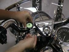 "Universal 7/8""-1"" Waterproof Motorcycle Handlebar Mount Clock Glow Watch SG Hot"