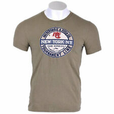 ABERCROMBIE AND FITCH Mens Logo Printed Short Sleeve Muscle Fit T-Shirt