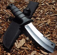 """11"""" HUNTING KNIFE Survival Bowie Tactical Blade Combat Outdoor Camping w/ Sheath"""