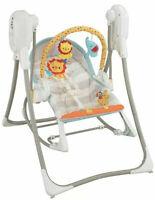 Fisher-Price BFH06 3-in - 1 Swing-N-Rocker, Neonati Baby Altalena