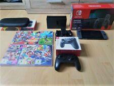 Nintendo Switch Paket (neues Modell) inkl. Spiele und Pro Controller