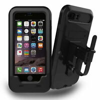 Waterproof Rotating Bicycle Bike Mount Handle Bar Holder Case For iPhone 8 Plus